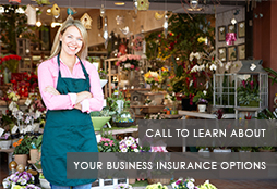 small --Call to learn about your business insurance options